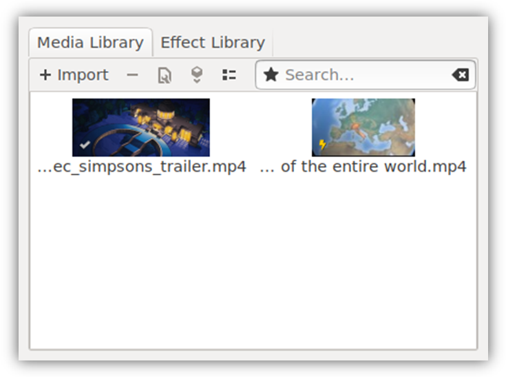 Media Library Icons